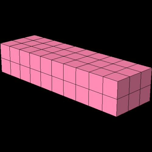 Quader 2x3x10