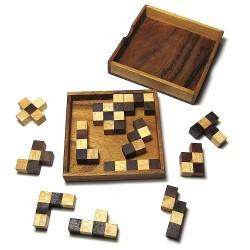 Pentomino mit Schachbrettmuster