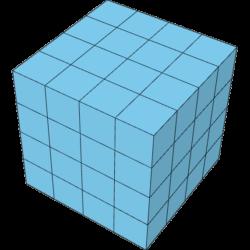Pentomino Würfel 4x4x4