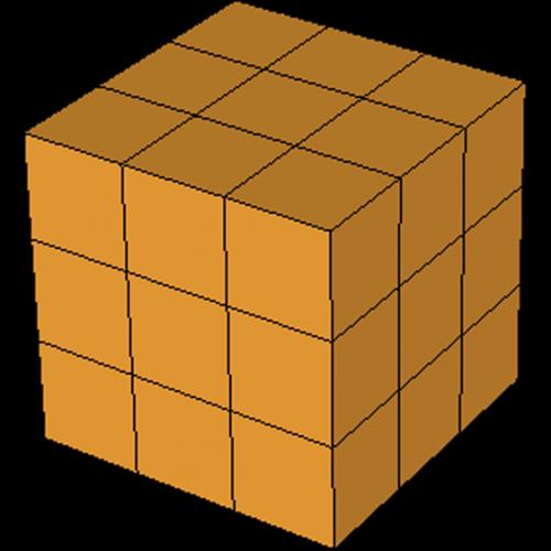 Soma Figur 1 Würfel