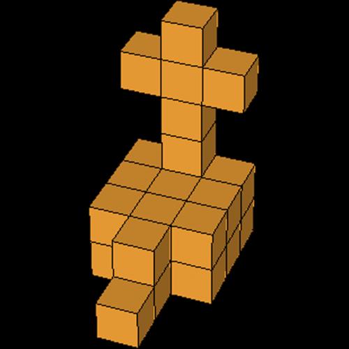 Soma Figur 18 Kreuz