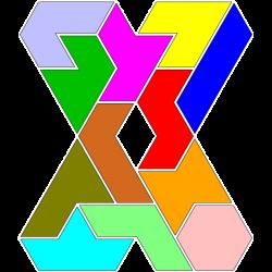 Hexiamond Figur 25 Lösung