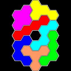 Tetrahex Figur 3 Loesung