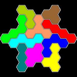 Tetrahex Figur 4 Lösung