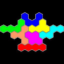 Tetrahex Figur 7 Lösung