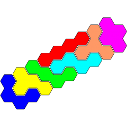 TetrahexFigur 8 Lösung