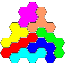 Tetrahex Figur 10 Lösung