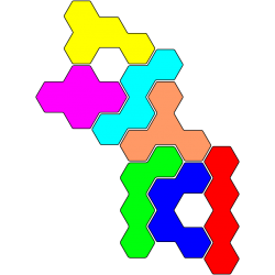 Tetrahex Figur 11 Lösung
