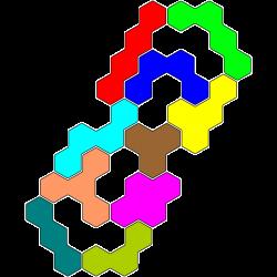 Tetrahex Figur 13 Lösung