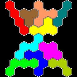 Tetrahex Figur 15 Lösung