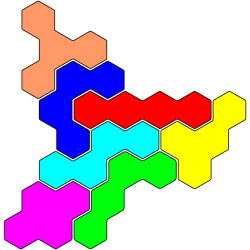 Tetrahex Figur 16 Lösung