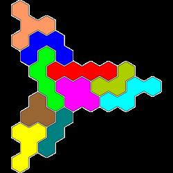 Tetrahex Figur 17 Lösung
