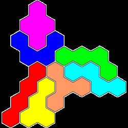 Tetrahex Figur 19 Lösung