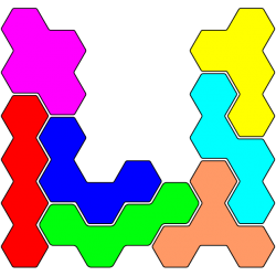 Tetrahex Figur 21 Lösung