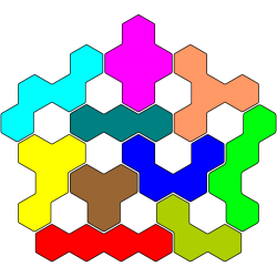 Tetrahex Figur 22 Lösung