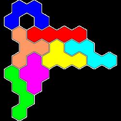Tetrahex Figur 23 Lösung