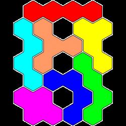Tetrahex Figur 25 Lösung
