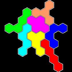 Tetrahex Figur 27 Lösung