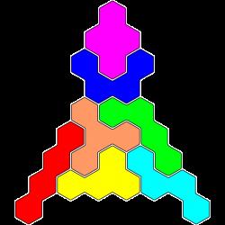 Tetrahex Figur 28 Lösung
