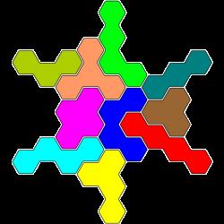 Tetrahex Figur 29 Lösung