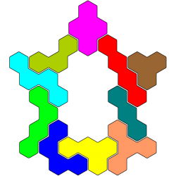 Tetrahex Figur 30 Lösung