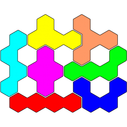 Tetrahex Figur 31 Lösung