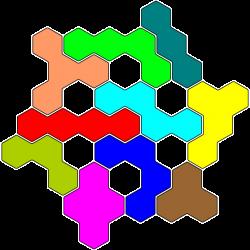 Tetrahex-Figur 32 Lösung