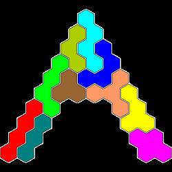 Tetrahex-Figur 37 Lösung