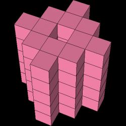 Pentomino-3D-Figur 34