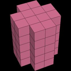 Pentomino-3D-Figur 36