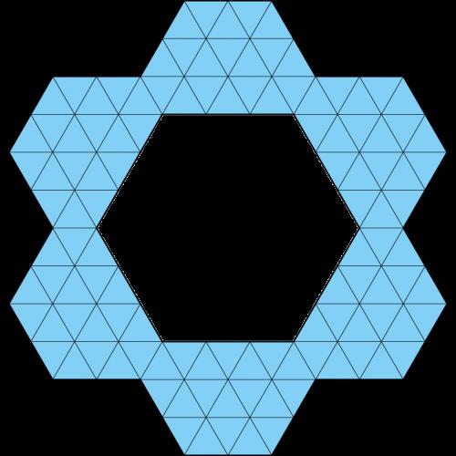 Hexiamond-Figur 60