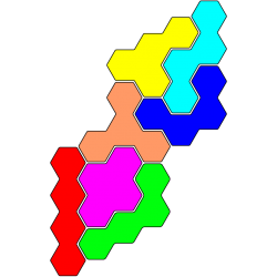 Tetrahex-Figur 40 Lösung