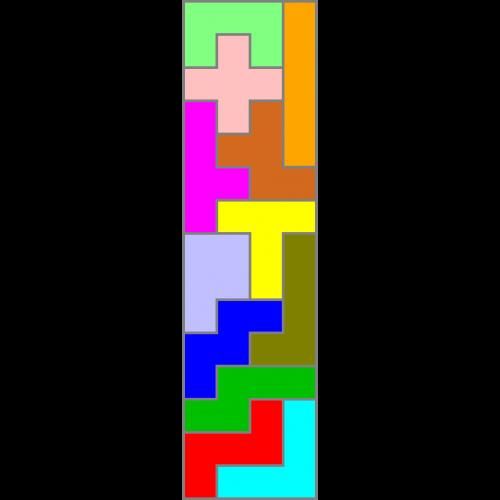 Rechteck 4x15