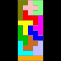 Rechteck 5x12