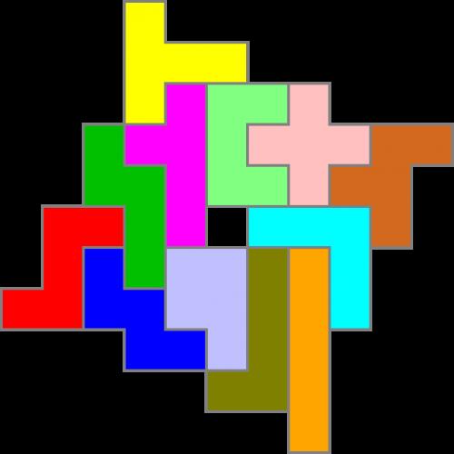 Pentomino-Figur 97
