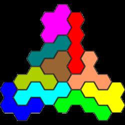 Tetrahex-Figur 41 Lösung